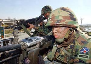 Войска Южной Кореи ночью подняли по тревоге