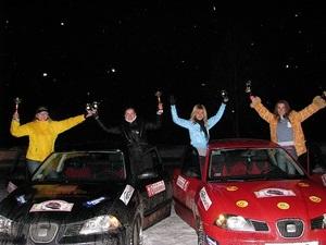 Seat Ibiza – абсолютный чемпион  Большого женского ралли 2010