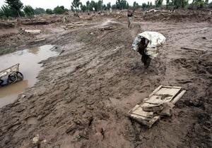 Красный Крест: От наводнений пострадали 2,5 миллиона пакистанцев