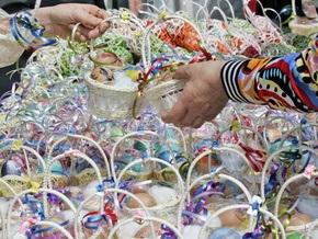 Киевхлеб планирует изготовить к Пасхе 340 тонн куличей