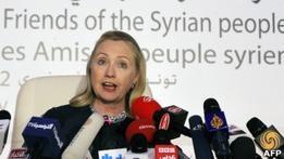 Клинтон осудила  недостойную  позицию России по Сирии