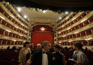 Бастующие хористы сорвали премьеру в Ла Скала