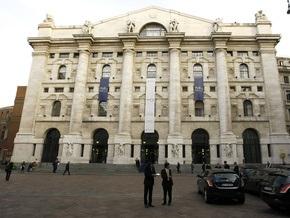 Итальянская порноактриса разделась в здании Миланской биржи