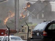 Неизвестный расстрелял пожарных из горящего дома в США