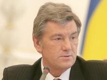 Ющенко участвует в заседании Политсовета НУ-НС
