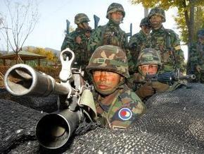 Южнокорейская армия приведена в повышенную боевую готовность