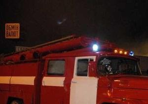 В Черкассах горел дом престарелых: возгорание произошло из-за окурка