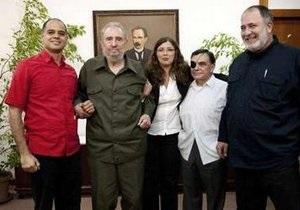 Фидель Кастро пообщался с венесуэльскими журналистами