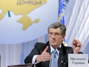 Ющенко решил улететь в Донецк прямо из Стамбула