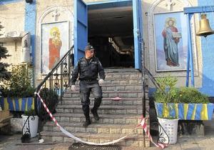 Суд оставил под стражей подозреваемого во взрыве храма в Запорожье