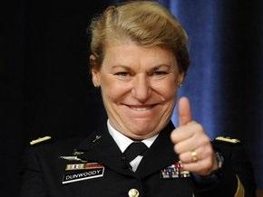 В Америке появилась первая четырехзвездная женщина-генерал
