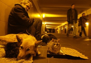 В Киеве начал работу патруль для помощи бездомным