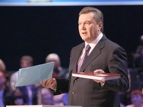 Янукович рассказал, когда отправит Ющенко в отставку