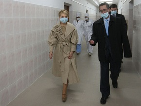 Эпидемия: Тимошенко поссорилась с полтавским губернатором и послала его на запад