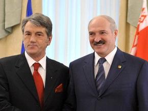 Ющенко пообщался с Лукашенко