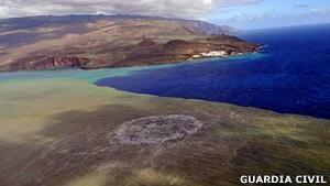 Извержение подводного вулкана у Канарских островов может привести к появлению нового острова