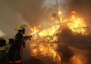 В результате пожара в манильских трущобах 7 тыс. филиппинцев остались без крова