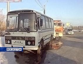 В Новосибирске пьяный кондуктор угнал автобус