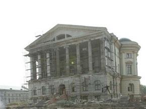 Ющенко откроет в Батурине восстановленный дворец гетмана Разумовского