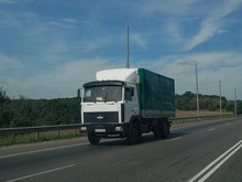 С 1 мая ограничен въезд грузовиков на территорию Киева