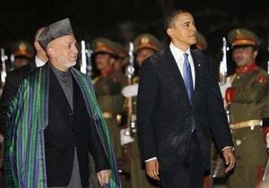 Обама поговорил с Карзаем о коррупции и наркобизнесе (обновлено)