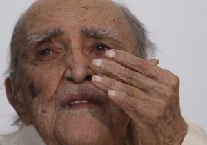 Классик мировой архитектуры Оскар Нимейер попал в больницу