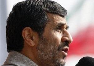 Ахмадинежад: Введение санкций не решит иранскую ядерную проблему