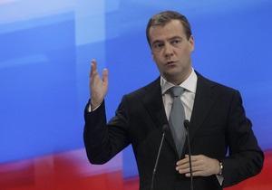 Медведев: За 20 лет Украина достигла прогресса в государственном строительстве и укреплении демократии