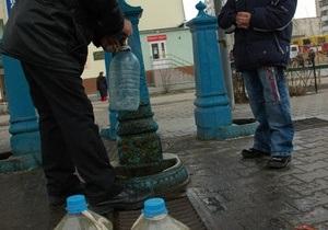 Киевляне стали реже использовать воду из бюветов