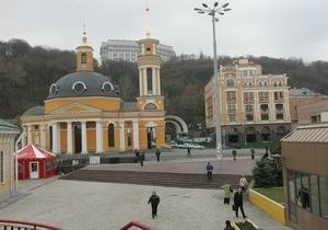 Киевские власти обещают, что ограничение движения на Почтовой площади будет минимальным