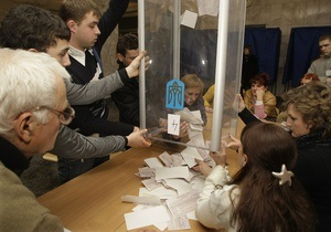 Почти 120 тысяч киевлян не поддержали ни Тимошенко, ни Януковича