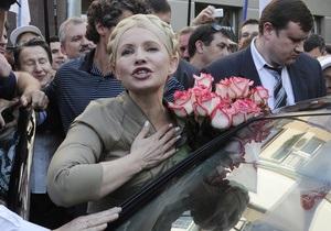 НГ: Все-таки Тимошенко уедет на Запад