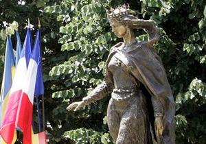 Украинцы и французы почтили память королевы Анны