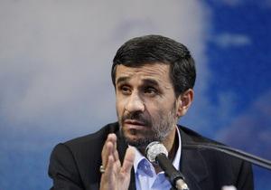 Ахмадинеджад обвинил Израиль в подготовке новой войны