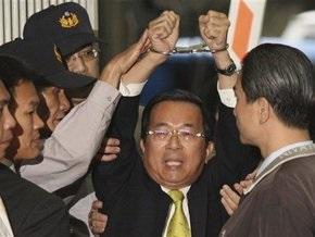Бывший президент Тайваня предстал перед судом по обвинению в коррупции