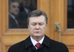Янукович провел встречи с главами СБУ и ГПУ