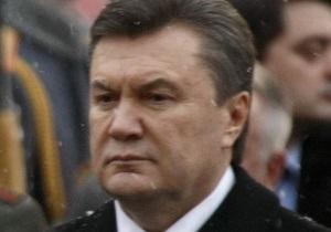 Янукович соболезнует Виктору Черномырдину в связи со смертью жены