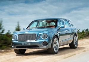 Bentley выпустит первый серийный внедорожник
