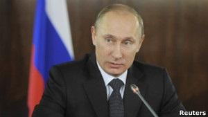 Путин обвиняет США в провоцировании протестов
