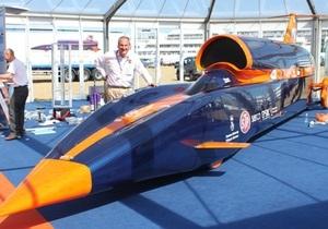 На Фарнборо представили сверхзвуковой автомобиль, который должен побить рекорд скорости на суше