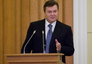 Янукович: Мы четко знаем, в чем наш интерес в диалоге с Америкой