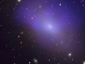 Астрономы: в темной материи движется горячий межгалактический газ