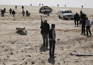 ПНС: Сын Каддафи со сторонниками укрылся в больнице Сирта