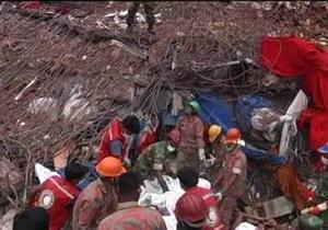 Число погибших в результате обрушения здания в Бангладеш превысило 600 человек