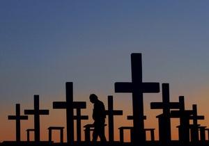 Новости США - странные новости: Житель США из-за ошибки в похоронном бюро похоронил вместо своей жены чужую женщину