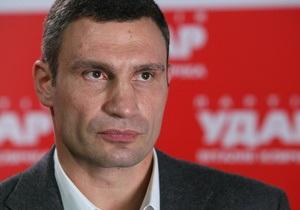 Кличко: Выборов мэра Киева скоро не будет из-за высокой поддержки оппозиции