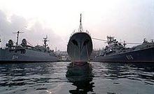 Украина хочет поскорей начать переговоры с Россией о выводе Черноморского флота