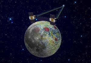 Новости науки: Зонд LRO заснял место падения аппаратов, составивших первую гравитационную карту Луны