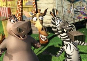Мадагаскар-3 стал самым кассовым мультфильмом в истории российского проката