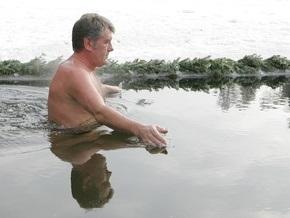 Фотогалерея: Ющенко в проруби